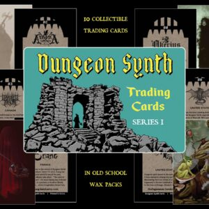 Dungeon Synth Trading Cards Series 1