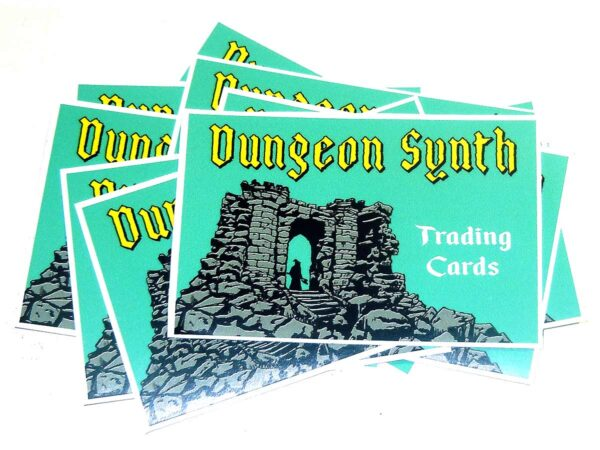 Dungeon Synth Cards Series 1 Sticker