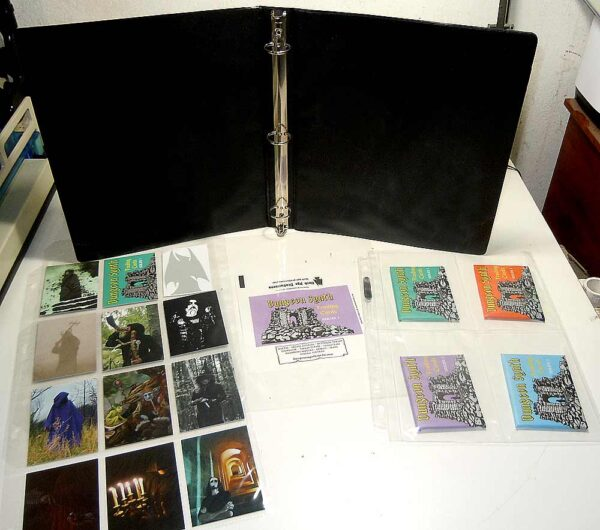 Dungeon Synth Cards Vinyl Binders